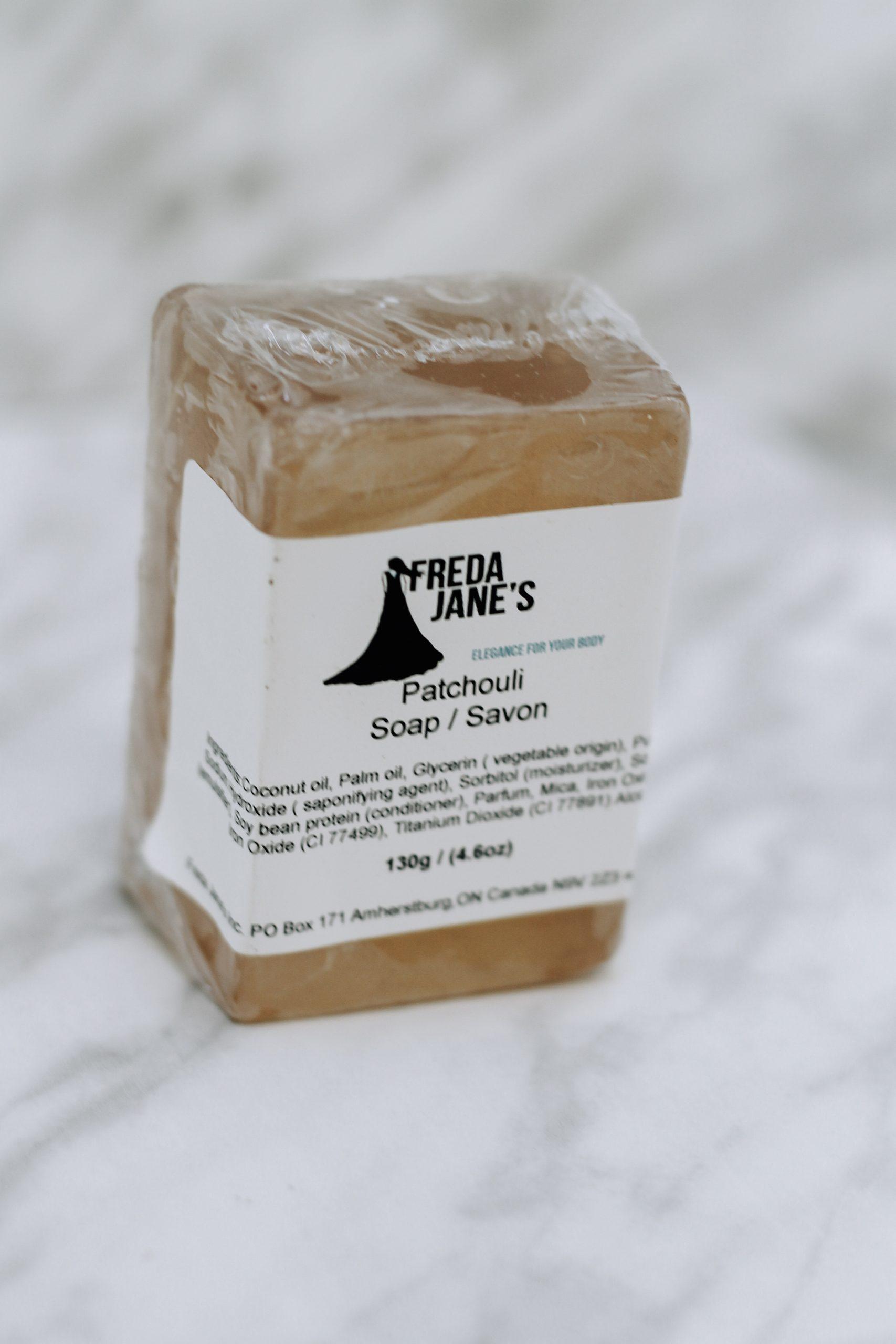 patchouli glycerin soap